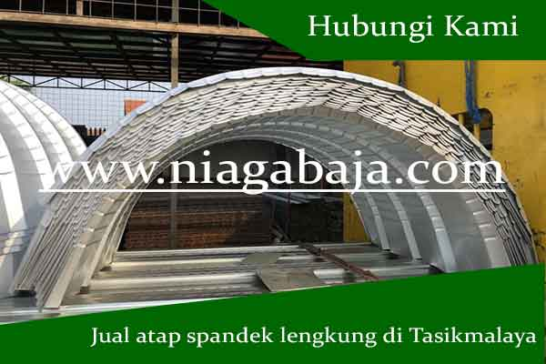 Jual Atap Spandek Lengkung di Tasikmalaya - Harga Murah Berkualitas