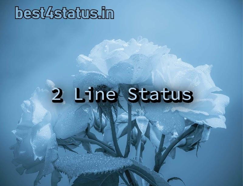 2 Line Status { Best New 2 Line status in hindi Updated 2019 }