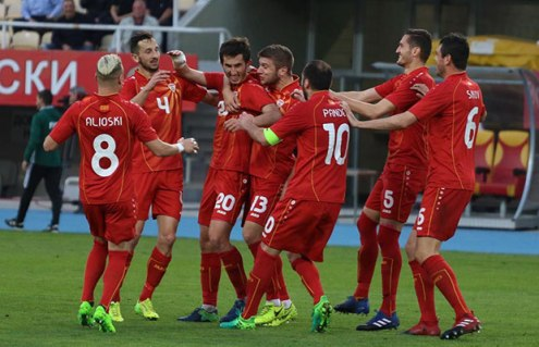 Football: Belarus falls to Macedonia