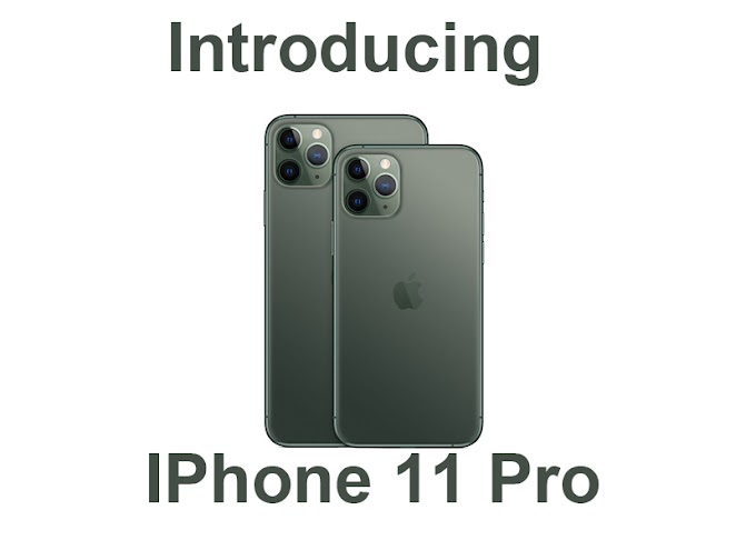 iPhone 11 Pro Based on Apple Video