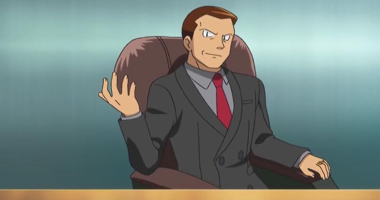 Giovanni Anime Pokémon
