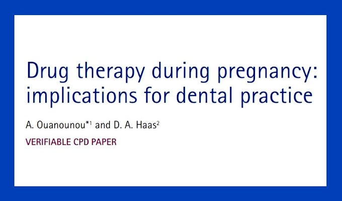 PDF: Drug therapy during pregnancy: implications for dental practice