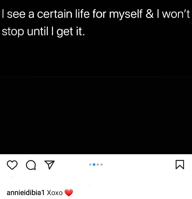 My mistake will speak grace for me- Annie Idibia says as she shares quotes