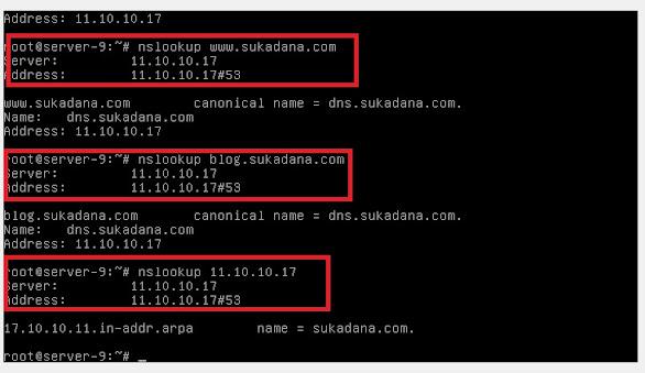Materi ke - #2 ASJ DNS Server Linux Debian 8.5