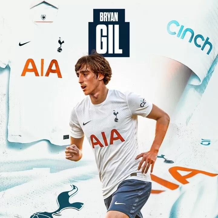 OFFICIAL: Tottenham sign Bryan Gil from Sevilla