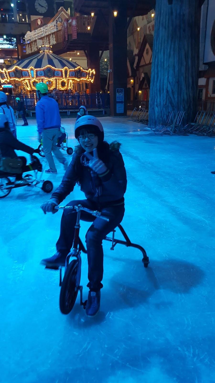 冰上腳踏車