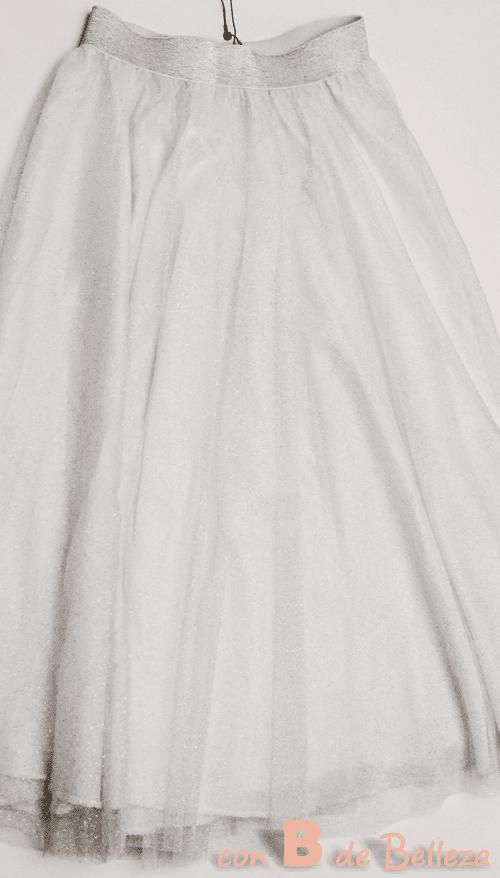 Falda tul Zara