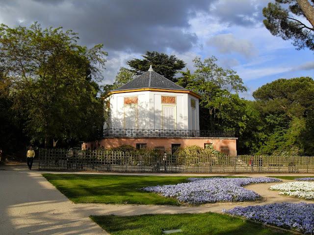 El parque del Capricho en Madrid