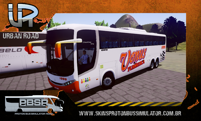 Skin Proton Bus Simulator Road - Comil Campione MB 0500 RSD Venus Turística