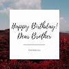 Happy Birthday Images for Brother with wishes and messages