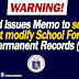 DepEd issues memo to schools that modify school forms like SF10