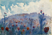 APRIL inspiration is Wild Poppies by Kenneth MacQueen