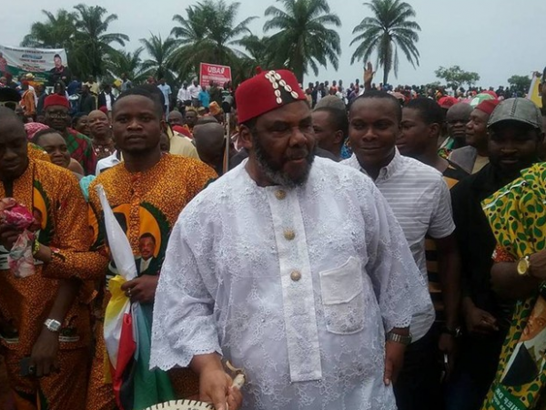 Pete Edochie Steps Out In Grand Style At The Flag-off of Anambra Sate Airpot