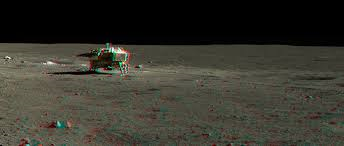Chang'e 4 the first rover to land on the moon other side