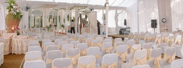 Persiapan pernikahan + pelaminan +dekorasi