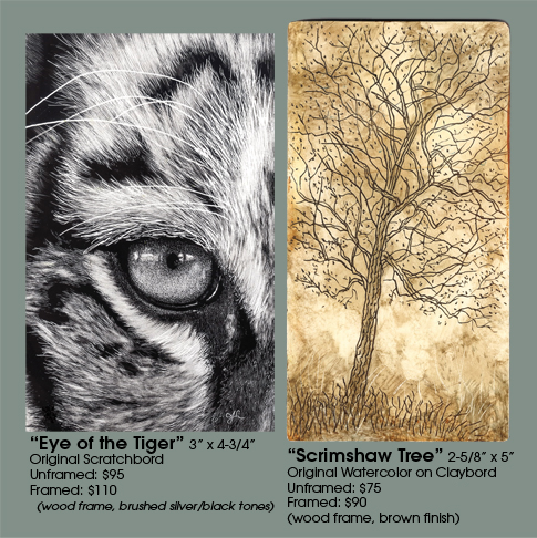 Eye of the Tiger and Scrimshaw Tree