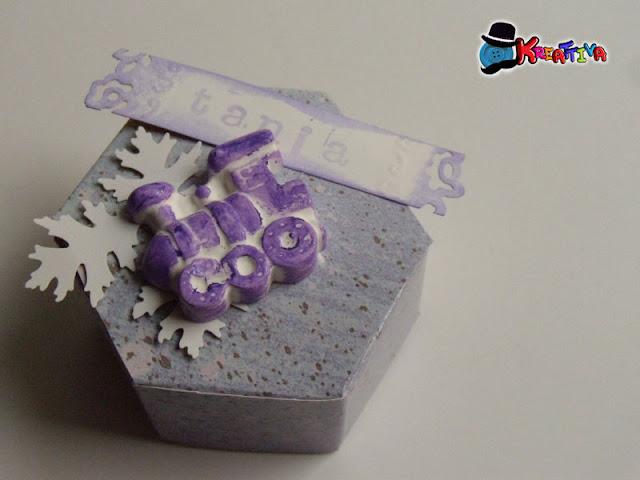 Come realizzare una scatolina esagonale
