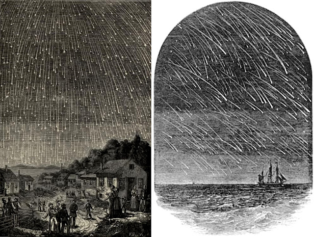 uma das chuvas de meteoros mais importantes do ano - Leonidas 2018