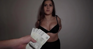 PUBLIC AGENT-Horny Brunette Sereyna Gomez