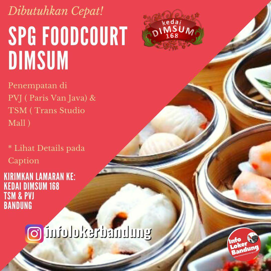 Lowongan Kerja SPG Foodcourt Dimsum Kedai Dimsum 168 Bandung November 2019