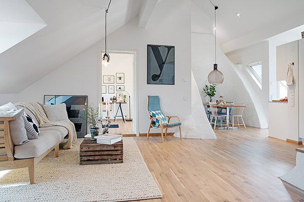 Loft su dois la d coration scandinave blog d co mydecolab for Deco eetkamer idee