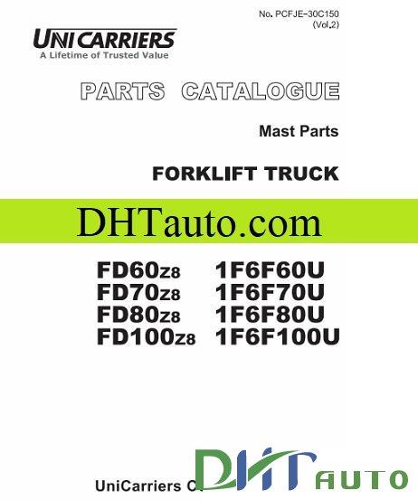 Nissan forklift shop manual full automotive library 1f6f60u 1f6f70u 1f6f80u 1f6f100u fandeluxe Choice Image