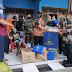 Serma Sutejo Dampingi Dinas Sosial Berikan Bantuan Kepada Warga