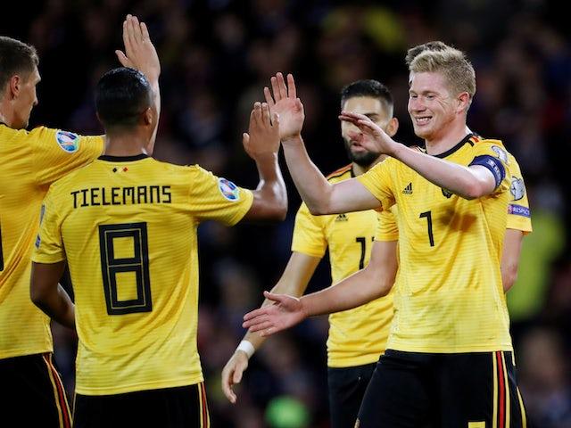 مشاهدة مباراة بلجيكا والدنمارك بث مباشر