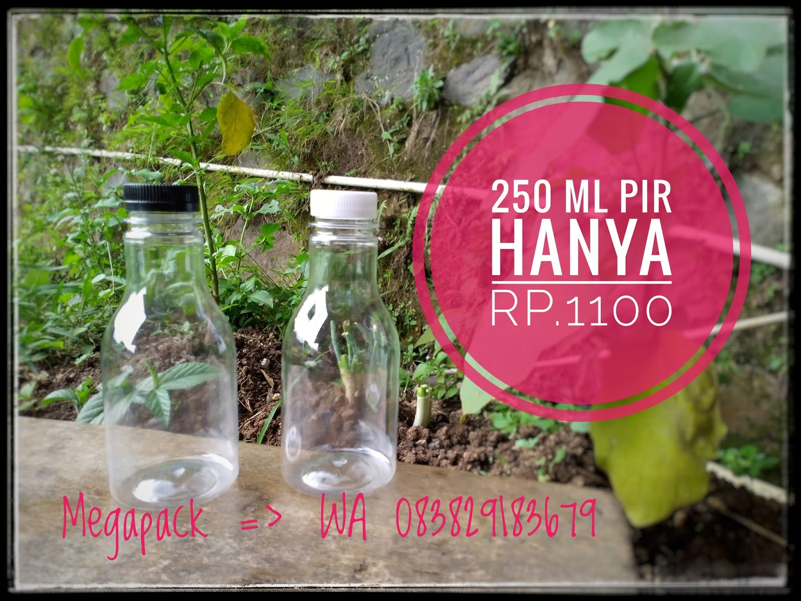 Grosir Botol Plastik Bandung Pet 100 Ml Bening Spray