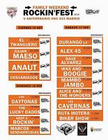 Horarios Rockin' Fest 2016