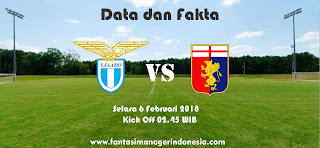 Data dan Fakta Liga Fantasia Serie A Gio 23 Lazio vs Genoa Fantasi Manager Indonesia