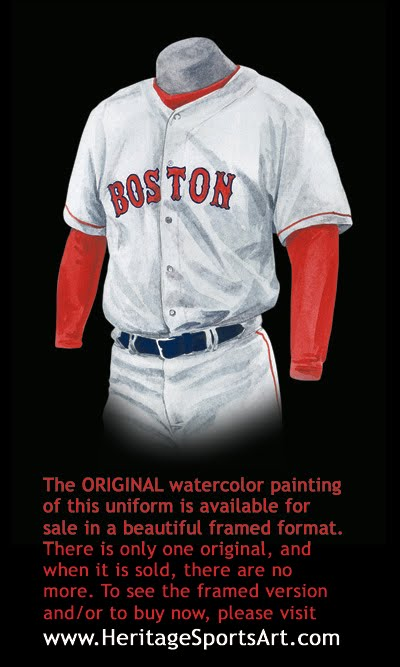detailing c1ed6 47f98 Boston Red Sox Uniform and Team History | Heritage Uniforms ...