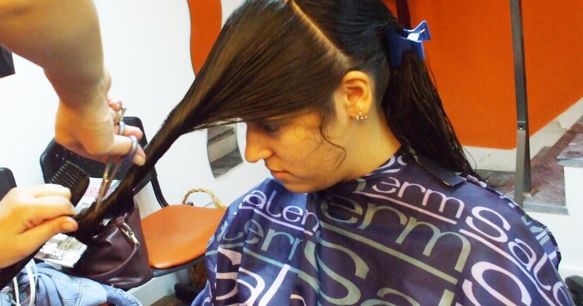 Bhabhis Hair Cut - Haircutstory-9291
