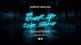 realme set to launch Narzo 30A with MediaTek Helio G85 processor