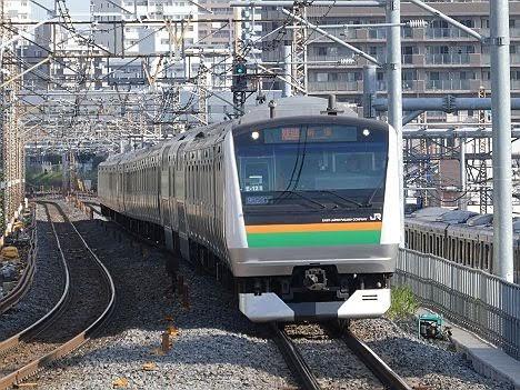【STEP2でも運行!】E233系の快速 新宿行き(2018年 渋谷駅高架化工事に伴う運行)