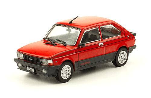 Fiat 147 Sorpasso 1982 1:43, autos inolvidables argentinos 80 90