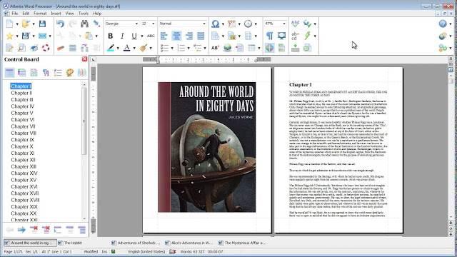 Screenshot Atlantis Word Processor 3.3.1 Full Version