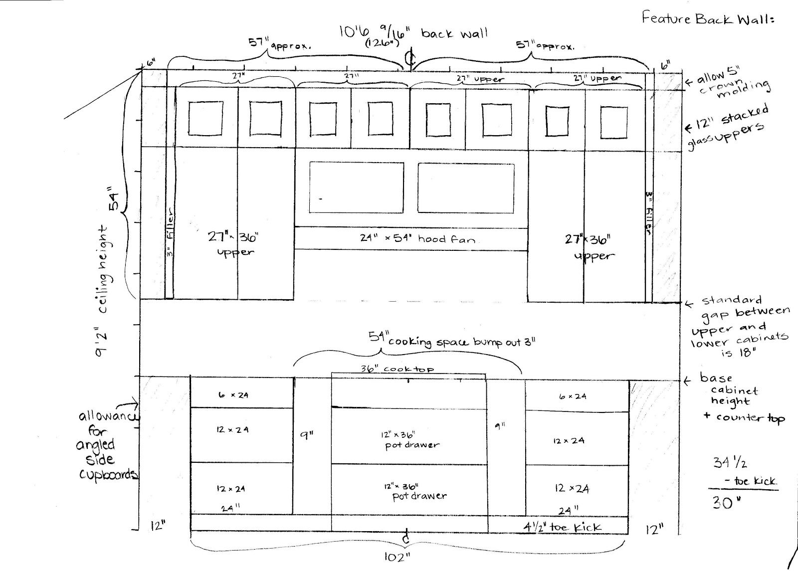 Kitchen Cabinets Sizes Cost For Cabinet Afreakatheart