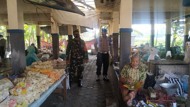 Pasar Ceper Jadi Sasaran Penertiban Protokol Kesehatan