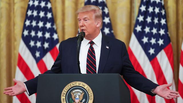 """""""EE.UU. es el más bajo en varias categorías"""": Trump discute con un periodista sobre la mortalidad del coronavirus en EE.UU."""