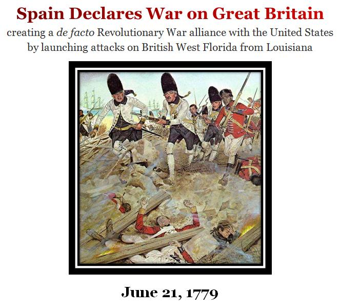 Rebels With A Cause Spain Declares War 1779