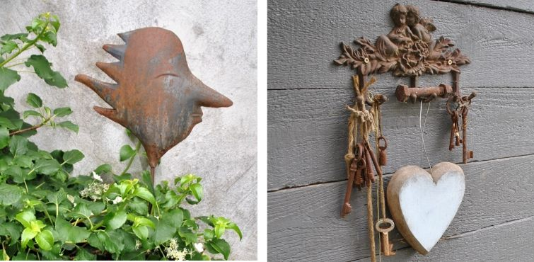 Gartendeko Impressionen aus privatem Garten