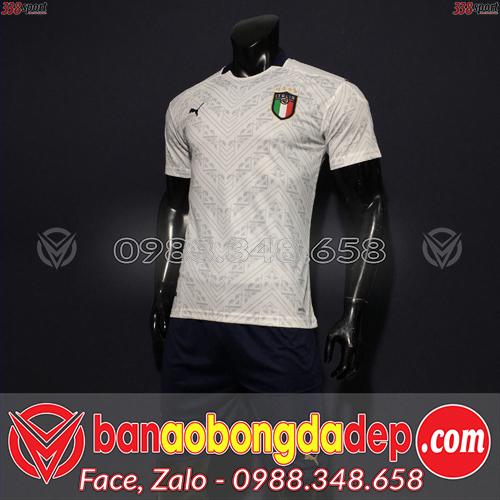 Áo Đội Tuyển Italia Màu Trắng 2020