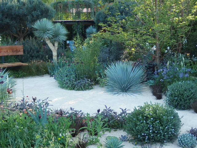 The Winton Beauty of Mathematics show garden at Chelsea Flower Show