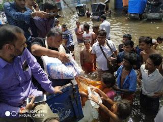 pappu-yadav-relief-patna-rain