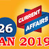 Kerala PSC Daily Malayalam Current Affairs 26 Jan 2019