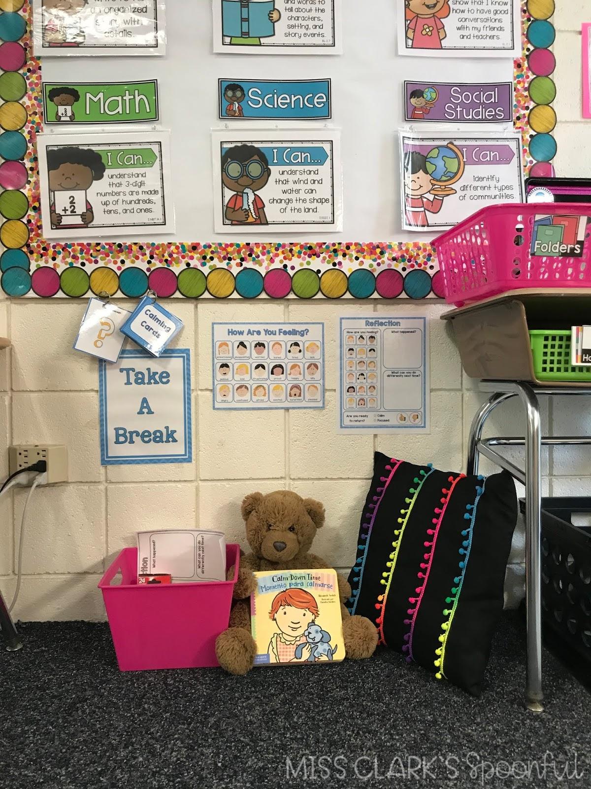 teaching in progress take a break station