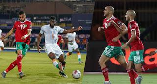 امرابط رجل المباراة يكشف تفاصيل إصابته و الجمهور المغربي سعيد بالتأهل