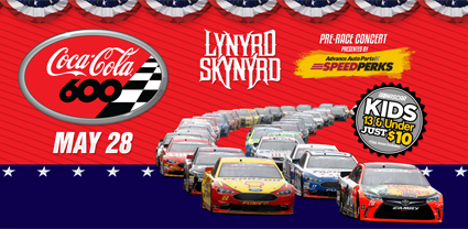 Innovative Four Stage Format for #NASCAR 's Coca-Cola 600