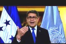 Inilah Pidato Presiden Honduras, Juan Orlando Hernández Alvarado di Debat Umum PBB ke-75